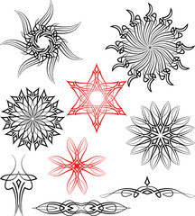 Tribal Tattoo Circular