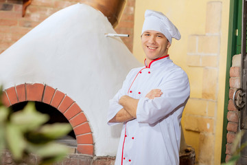 Young male cook