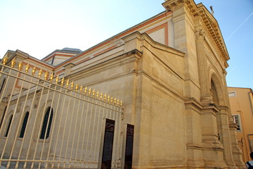 Royal chapel,Fesch museum,Ajaccio. South Corsica, France.