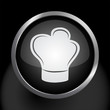 Chef's Hat Icon Symbol Vector