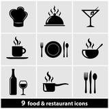 Fototapety Food & Restaurant Icon Set