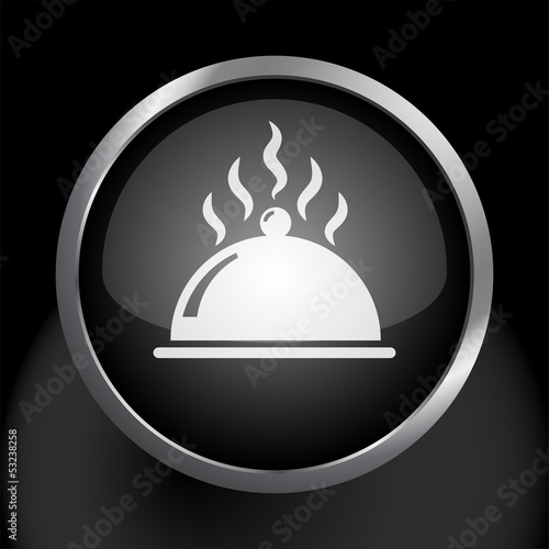 Food Platter Icon Symbol Vector