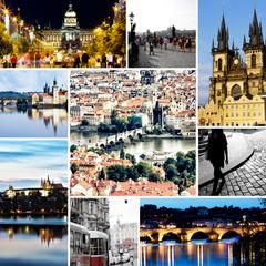 Prag - Collage