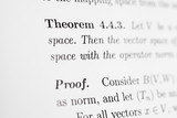 Math Expression Theorem and Proof