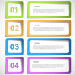 1-2-3-4 option - paper frames template