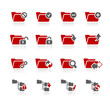 Folder Icons - 1 -- Redico Series