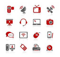 Communication Icons -- Redico Series