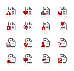 Documents Icons - 2 -- Redico Series