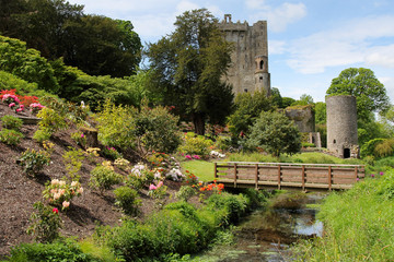 Blarney castle park and bridge