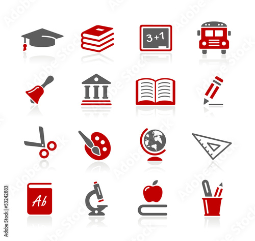 Education Icons -- Redico Series