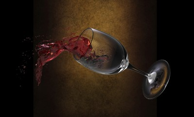 Splash of wine