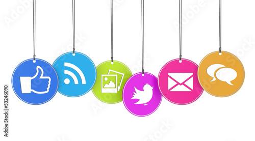 Web And Social Media Concept - 53246090