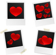 heart photos frames