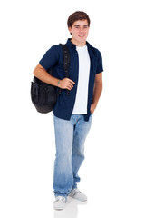 high school teenage boy