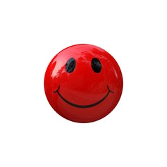 Smiley smile red