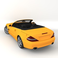 orange car 3