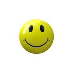 Smiley smile yellow