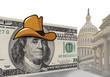 Funny hat in Washington D.C.