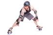 Tricks vorführen mit freeline skates