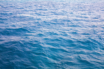 surface of the sea