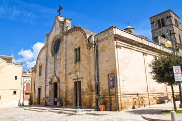 Mother Church. Mottola. Puglia. Italy.