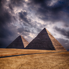 Pyramides de Gizeh au Caire Egypte