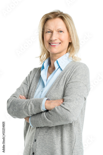 Happy Mature Woman