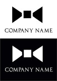 Bow ties for men - logo vector