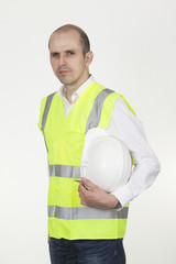 Man in safety gear