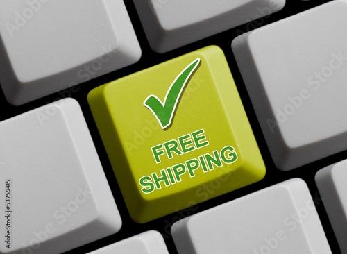 Free Shipping - Ohne Versandkosten