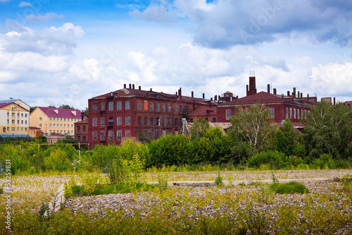 old textile factories in Ivanovo