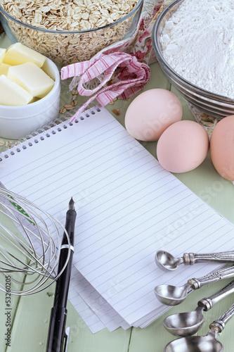 Recipe Book and Pen