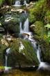 Fototapeten,landschaft,wasserfall,grün,wasser