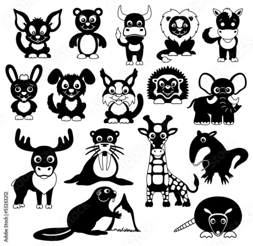 Animals 16 icons.