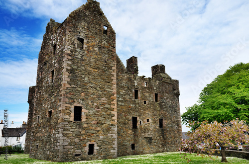 MacLellans Castle, Kirkcudbright, Scotland