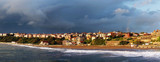 panoramic of Getxo beach
