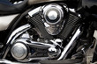 Close-up of Motorcycle Engine, motor