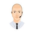 Customer service avatar