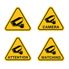 Sign security camera