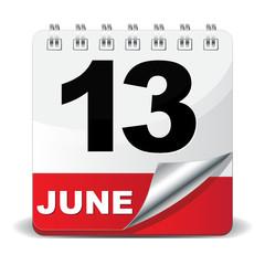 13 JUNE ICON
