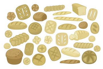 Various Breads Set
