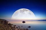 Full moon rise - 53274696