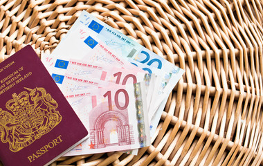 Travel visa and money