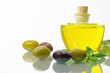 Stillleben mit Oliven