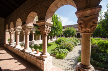 Courtyard of the Cloisters