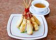 Crispy shrimp Spring rolls.