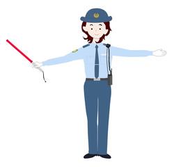 婦警の仕事