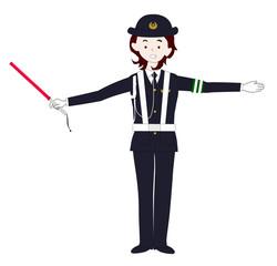 婦人警官の仕事
