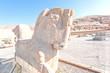 Ancient Persian horse statue in Persepolis, Iran.