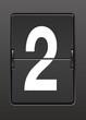 Analog panoda iki  rakamı